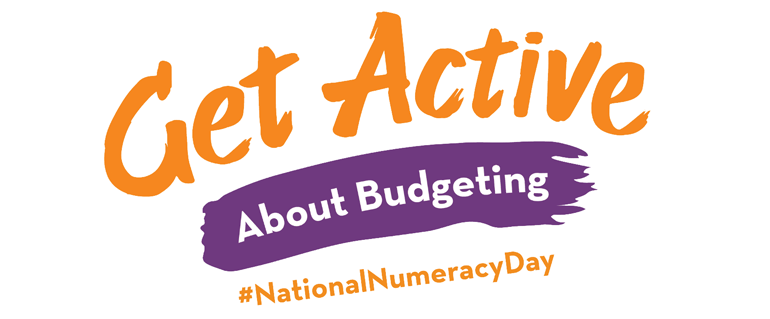get active about budgeting graphic