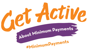 Minimum Payment Awareness Month logo