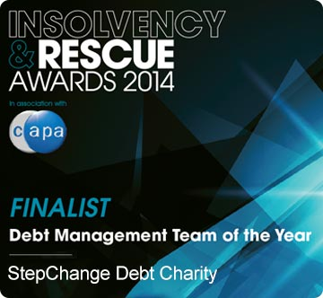 insolvency rescue awards winner StepChange Debt Charity