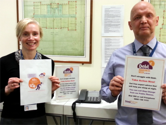 Leeds city council supporting Debt Awareness Week