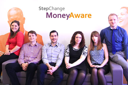 Photo of the MoneyAware team