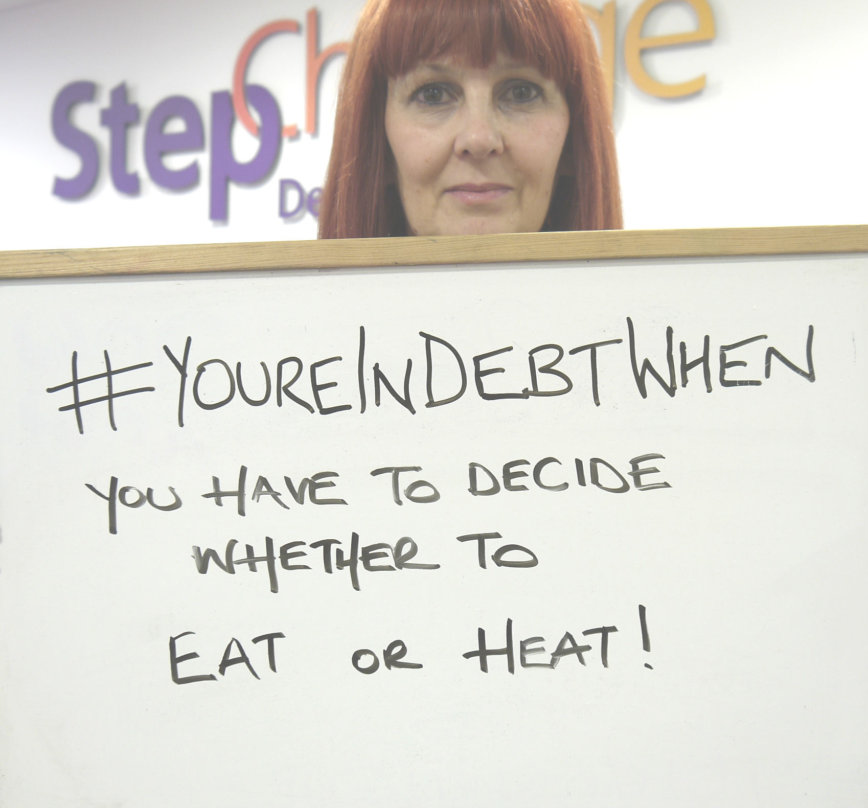 Deciding between eating and heating is a danger sign of debt